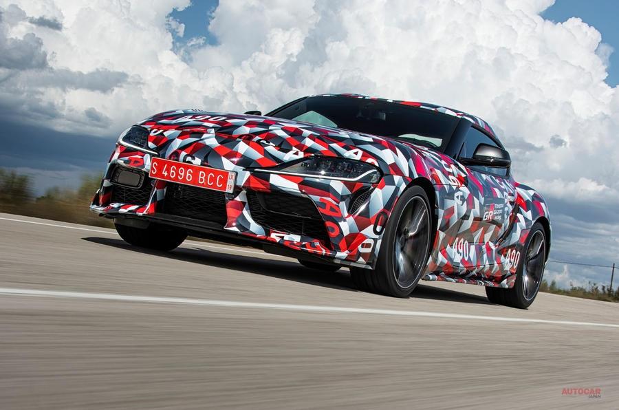 新型トヨタ・スープラ 2019年1月のデトロイトショーで初披露