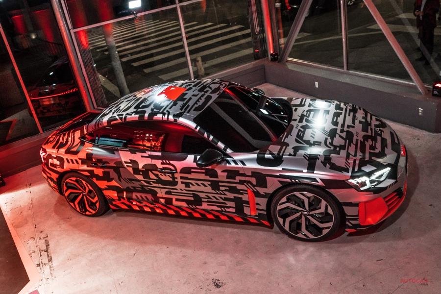 実車 アウディのフル電動GT「eトロンGTコンセプト」 LAショー
