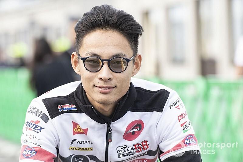 "【MotoGP】「序盤からプッシュする」3番グリッド鈴木竜生、ホーム戦攻略のカギは""分断"""