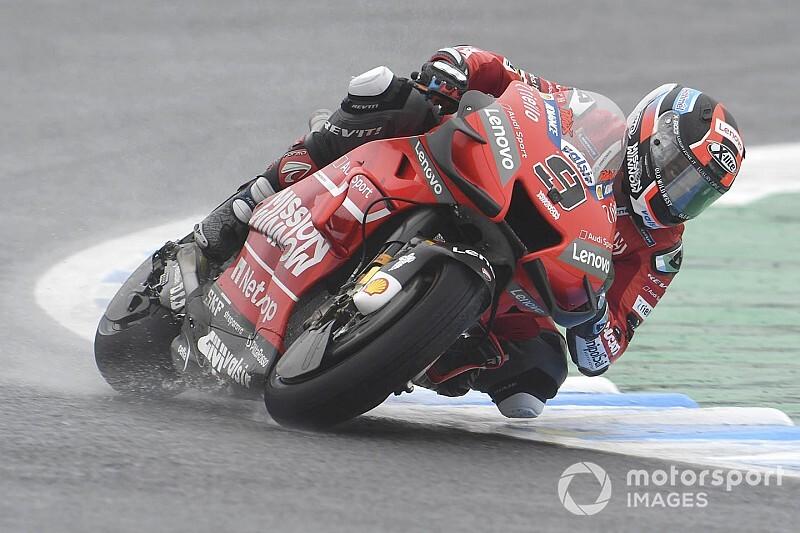 "MotoGP日本FP3:""ウエットマスター""ペトルッチ首位。中上貴晶、奮闘15番手"
