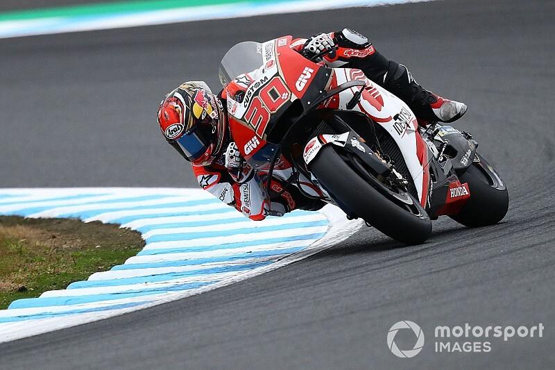 MotoGP日本GP予選:中上貴晶、渾身アタックで13番手。マルケス今季10度目ポール