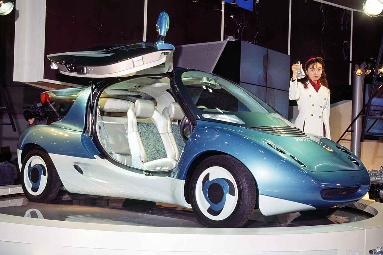 【懐かしの東京モーターショー 13】1991年、ダイハツはX-021で新たなスポーツカー市場の開拓を目指した