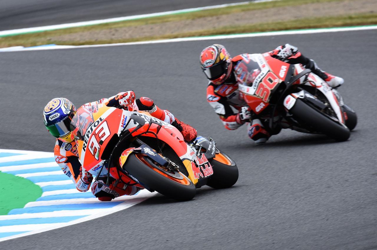 <MotoGP>中上貴晶 初日15番手発進も…~実は重傷を押しての日本GPでした