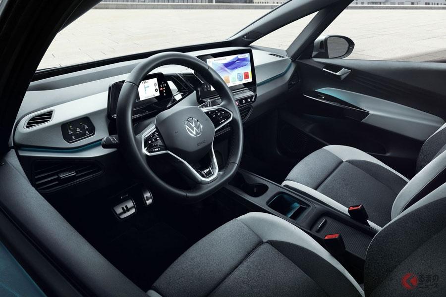 市販間近の新型SUVをなぜ見せない? チラ見せされた2020年登場の電動SUV「ID.CROZZ II」とは