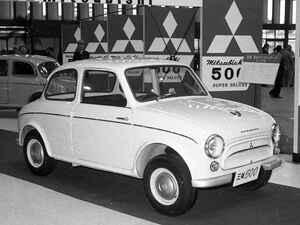 【昭和の名車110】三菱 500は三菱ブランドが初めて独自開発した乗用車だった
