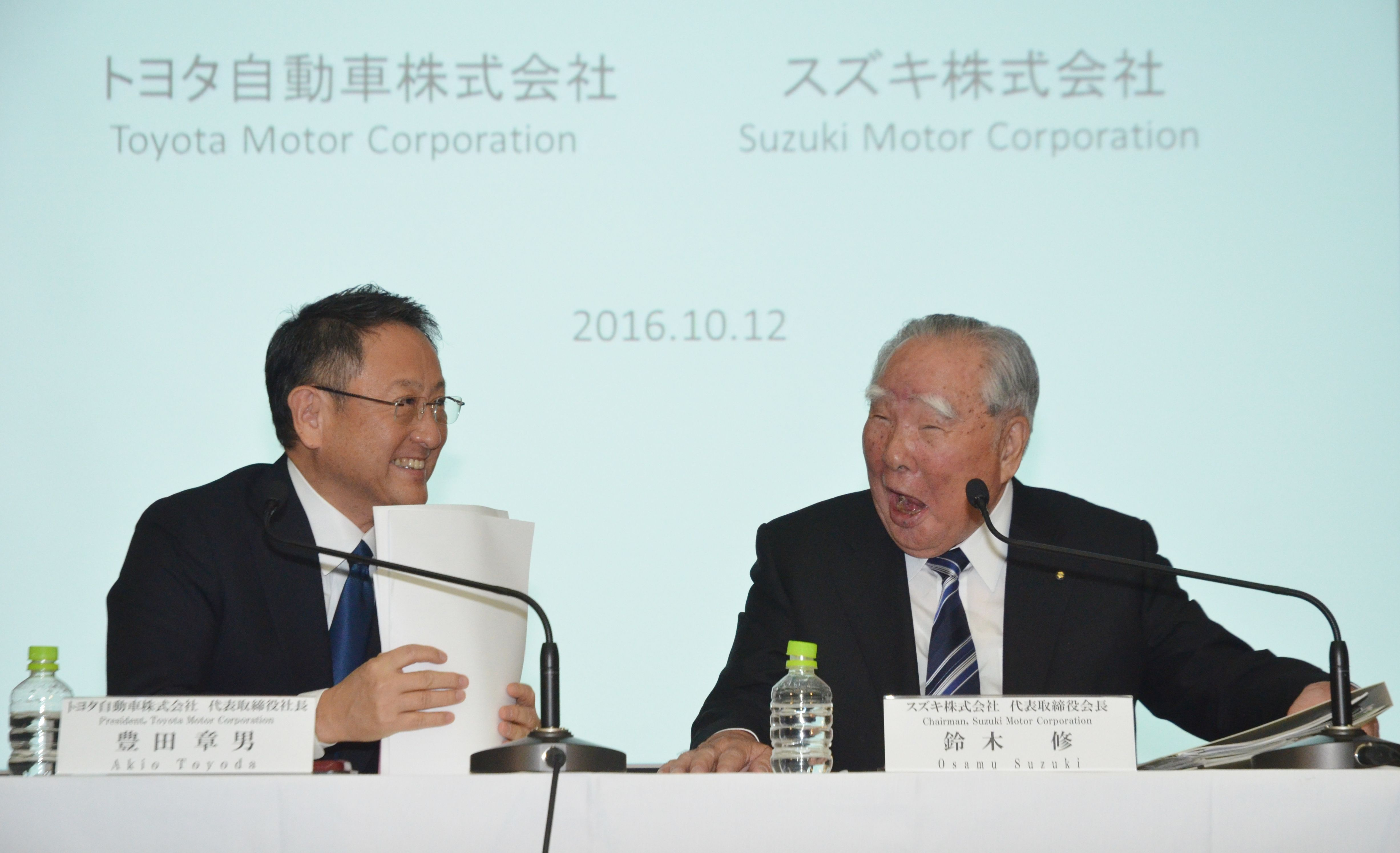 トヨタ スズキへの出資手続きが完了 当局が承認