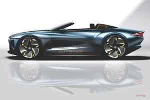 【2億円超えか?】英ベントレー、12台限定オープンカー構想 「EXP100 GT」がベース