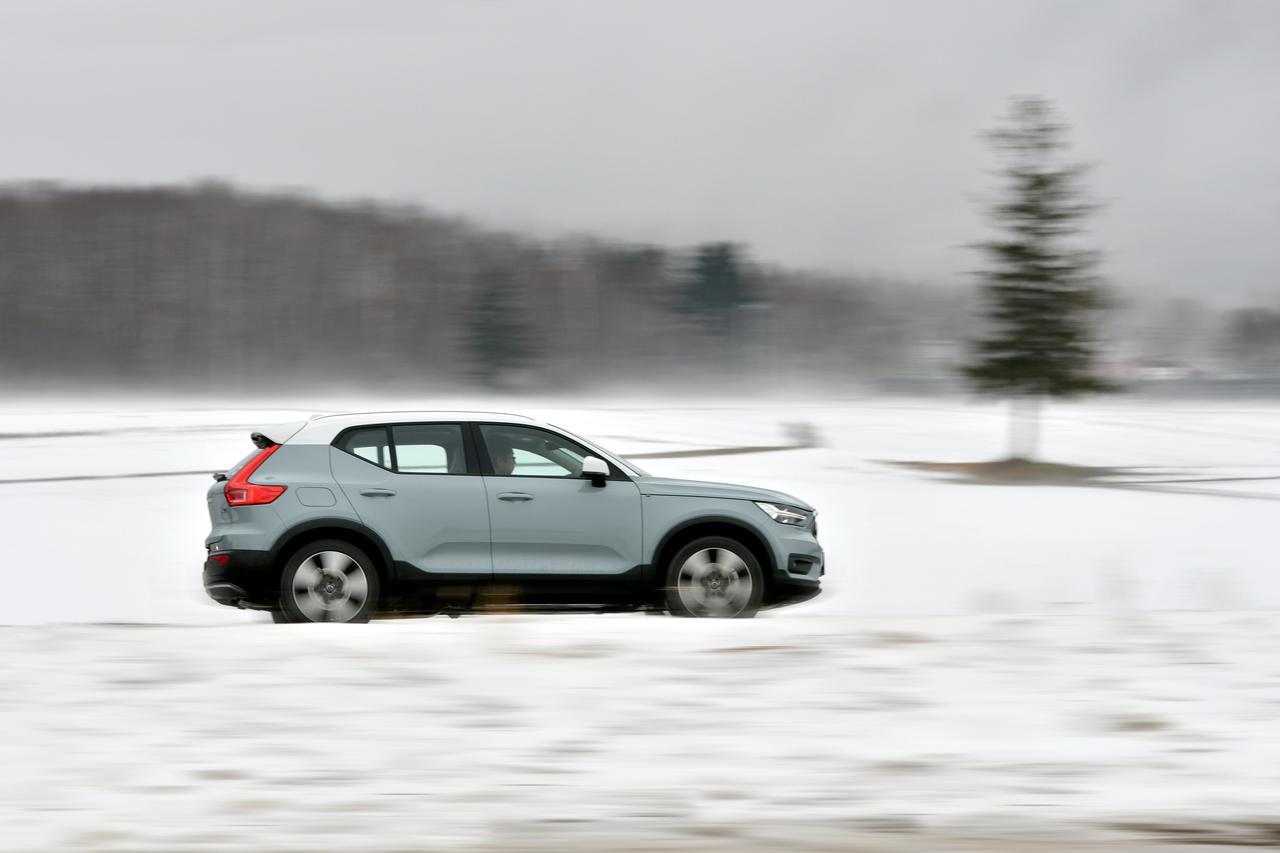 【試乗】ボルボ XC40の新しいAWDシステムはレスポンス抜群だ