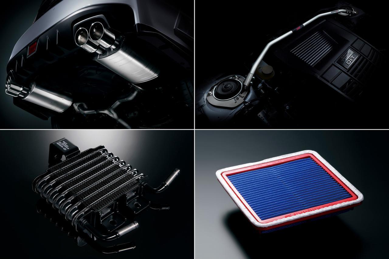 「スバル WRX S4 STIスポーツ#」はエンジンパワー向上、ボディ強化、静粛性を高めた500台の限定車