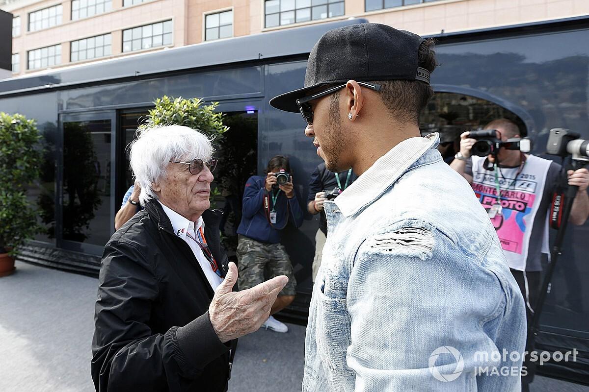"""ハミルトン、""""元支配者""""バーニー・エクレストンの人種差別的発言に苦言「F1に多様性がなかった理由がよく分かる」"""