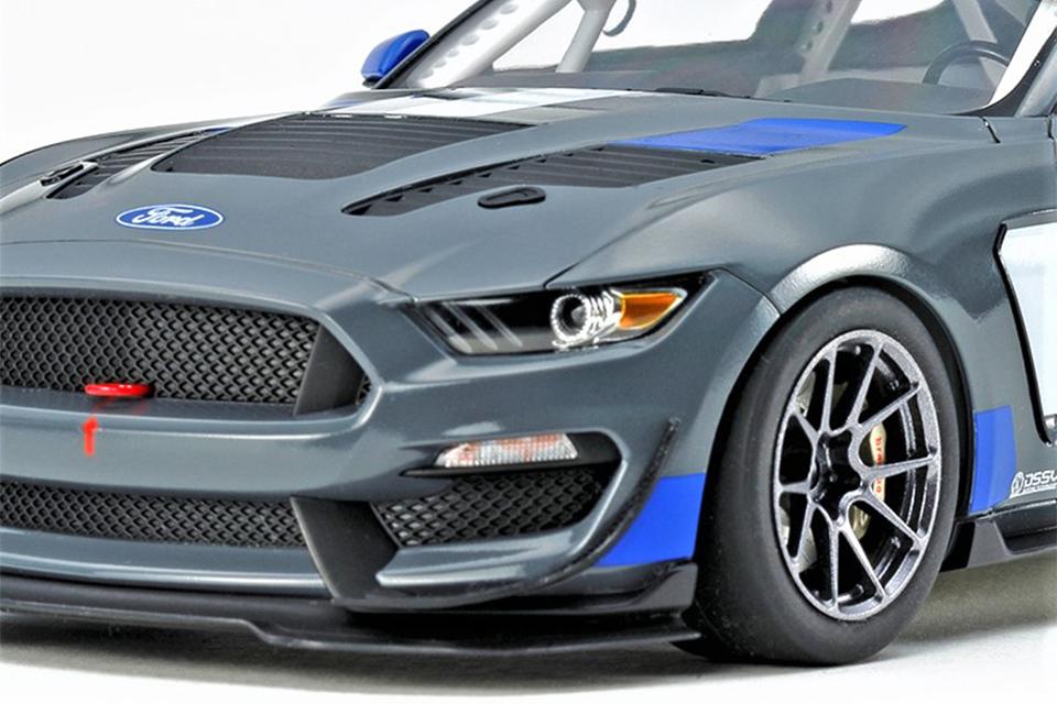 2016年デビューの精悍なレーシングカー「マスタングGT4」 完成度の高い組み立てキットがタミヤから登場!!