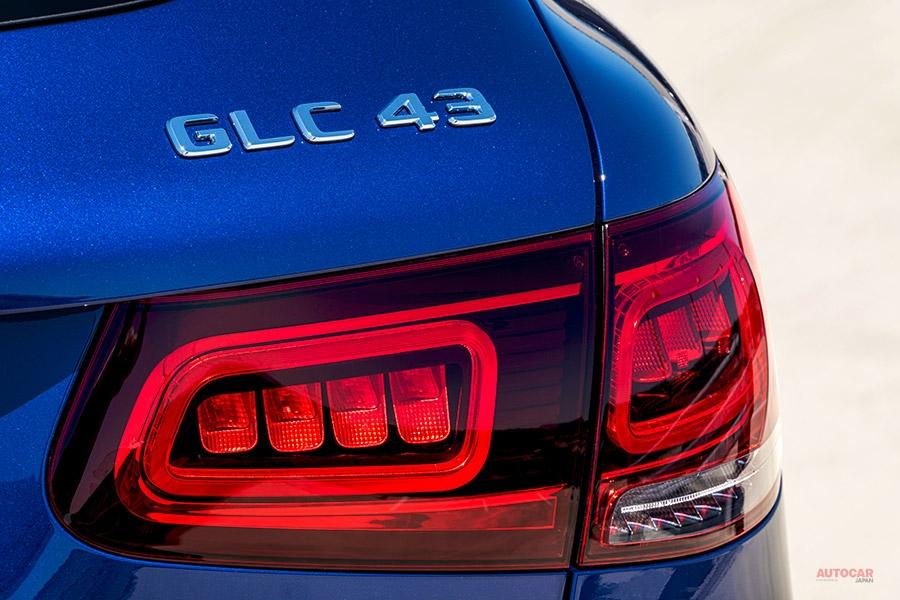 新型メルセデスAMG GLC 43/GLC 43クーペ 内外装が変更 23ps増 BMW X3 M40iに照準