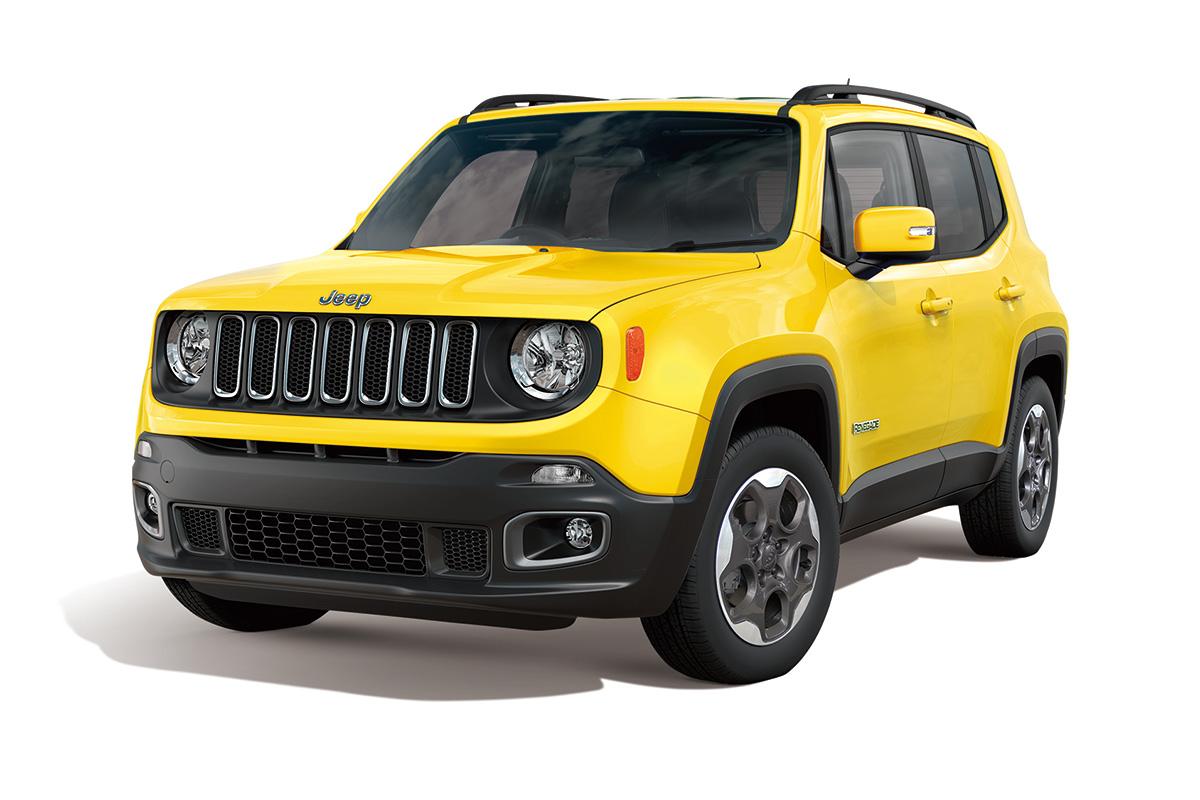 ジープ「レネゲード」に安全装備を充実させた限定車「セーフティ・エディション」発売