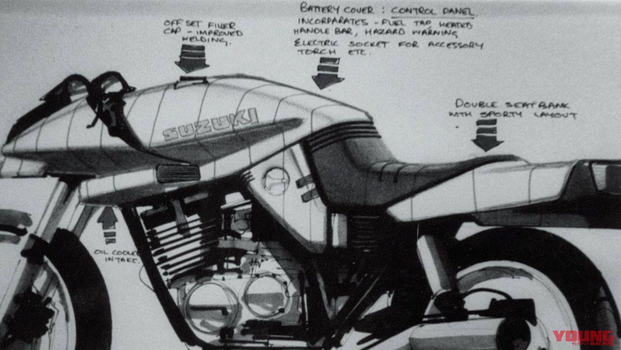 蘇るカタナ伝説〈02〉デザインスケッチから量産試作車へ