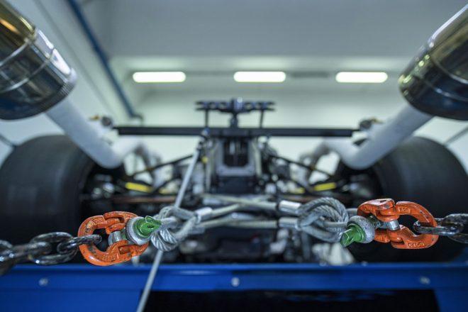 ランボルギーニ、サーキット専用V12エンジン初披露。2020年発表のハイパーカーに搭載へ