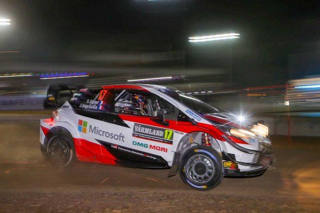 """WRC第2戦スウェーデン:シェイクダウン""""2本目""""もヤリスWRCがトップ3独占。ラトバラが最速"""