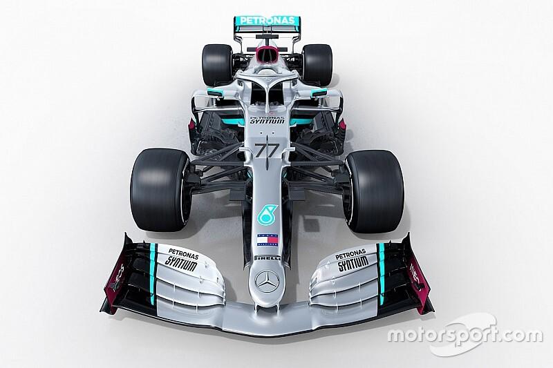 メルセデス、新車『W11』を発表。前人未到の7連覇を目指す