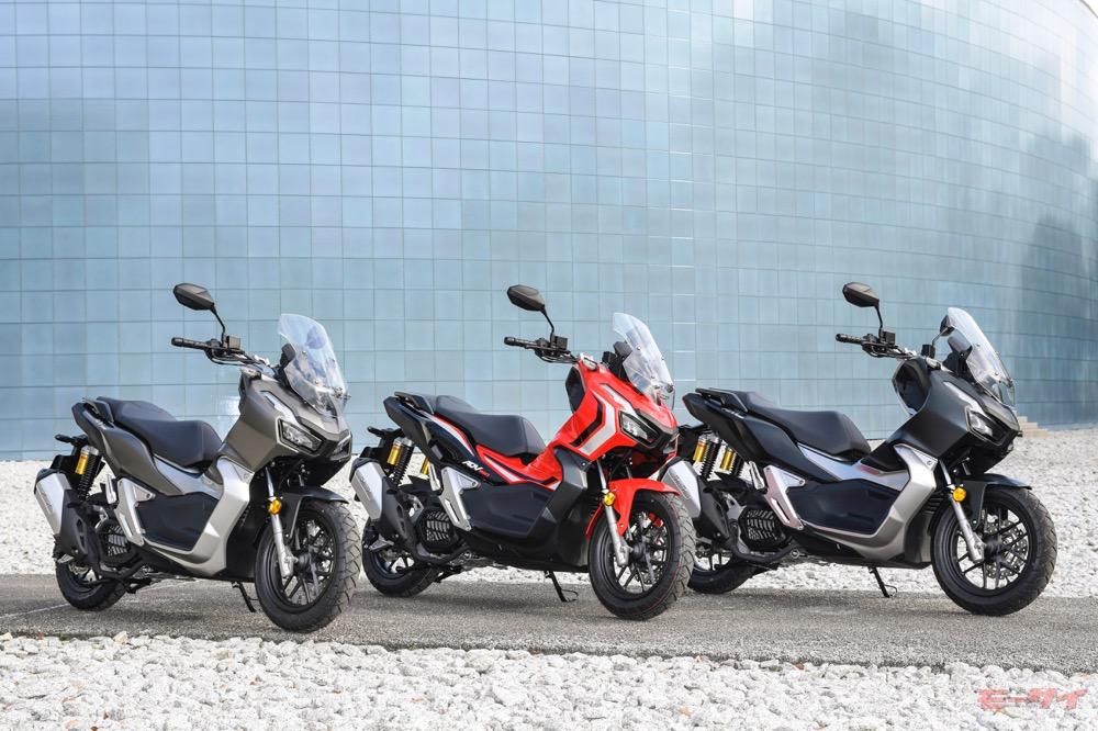 年間販売予定台数の約130%を既に受注、ホンダADV150が好調なスタート