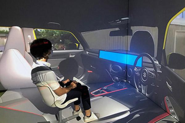 パナソニック VRシミュレーターを使用したHMI開発を効率化