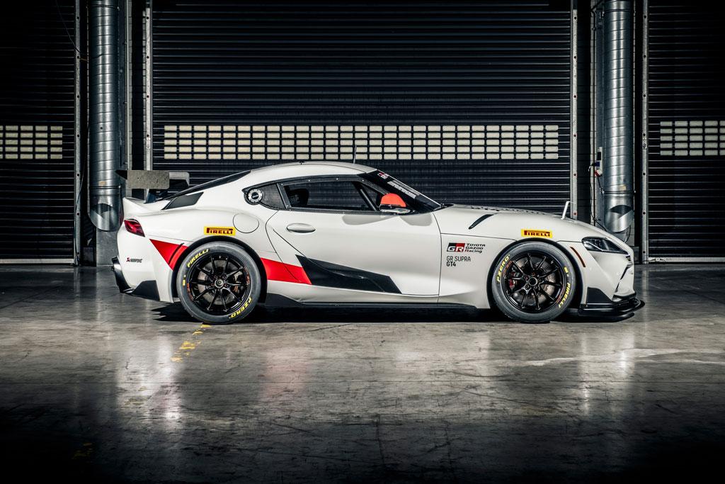 レース車両の「GRスープラGT4」、日本では2020年10月から!