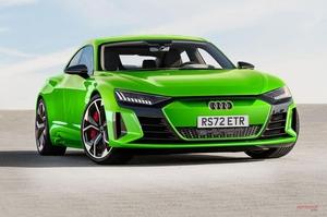 【EVモデルぞくぞく登場】アウディ・スポーツ RSブランドeトロンGTなどを開発中