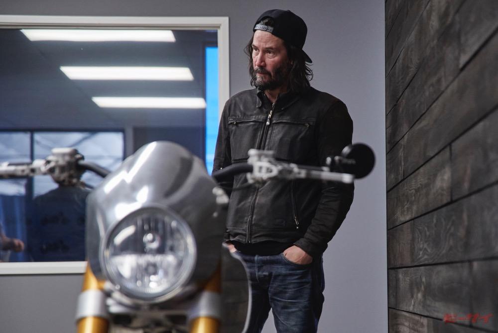 キアヌ・リーブスに直撃インタビュー! ハリウッド俳優が作った超こだわりバイク「アーチ・モーターサイクル」とは?