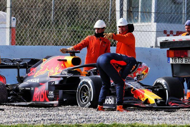 レッドブル・ホンダF1のフェルスタッペン、スピンで走行中断もポジティブ「マシンもエンジンも好調」