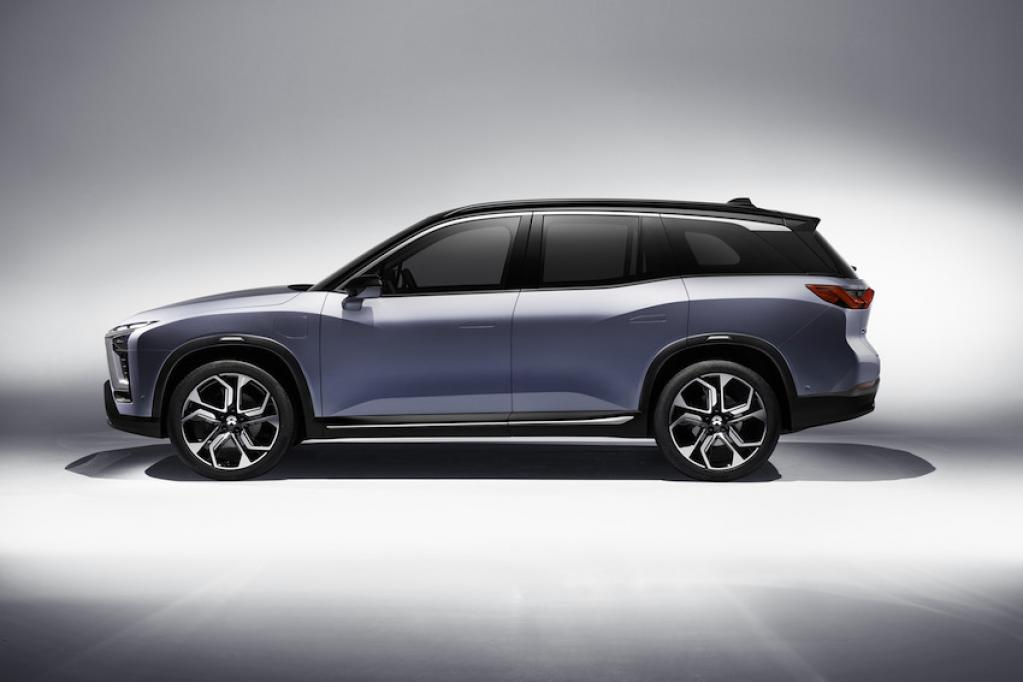 BASFの塗料ソリューションが、中国でNIO社のES8のスマートな次世代電気自動車に貢献