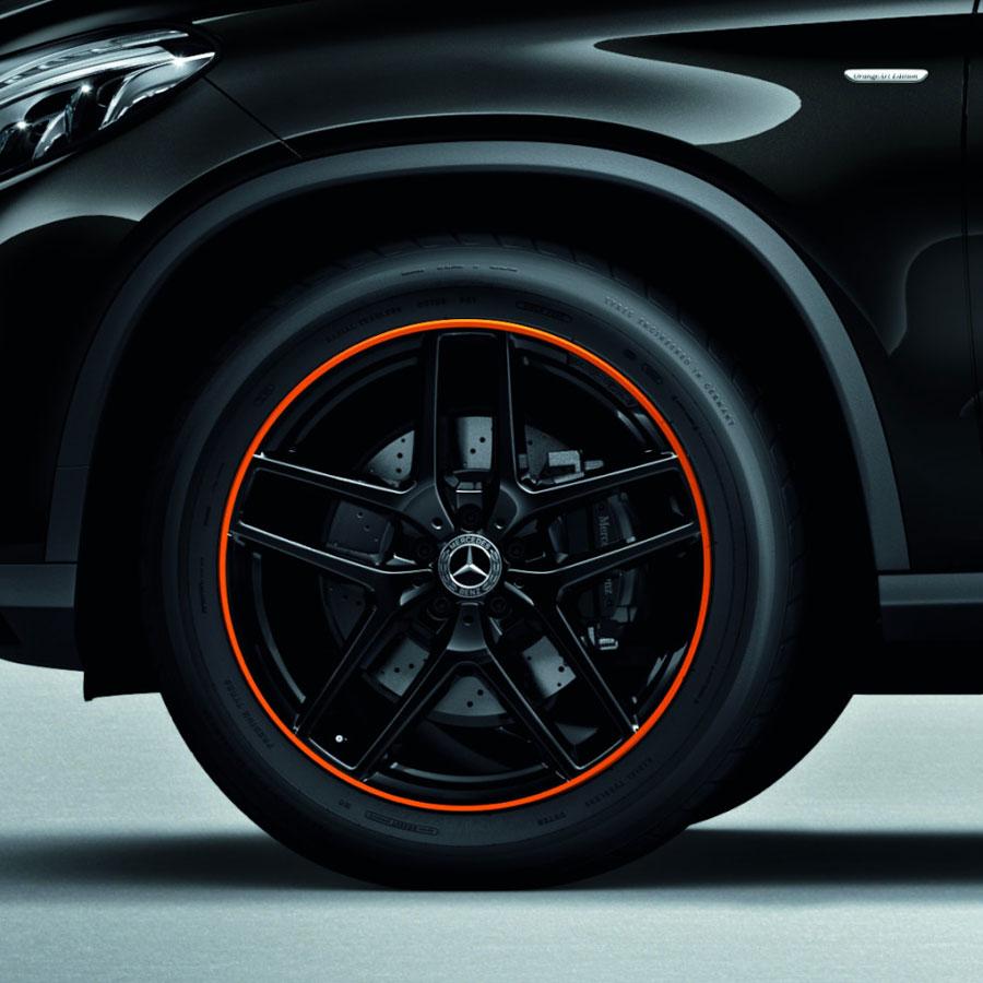 メルセデス・ベンツ GLEにオレンジが鮮やかな特別仕様車「AMG GLE43 4MATIC」を一部改良