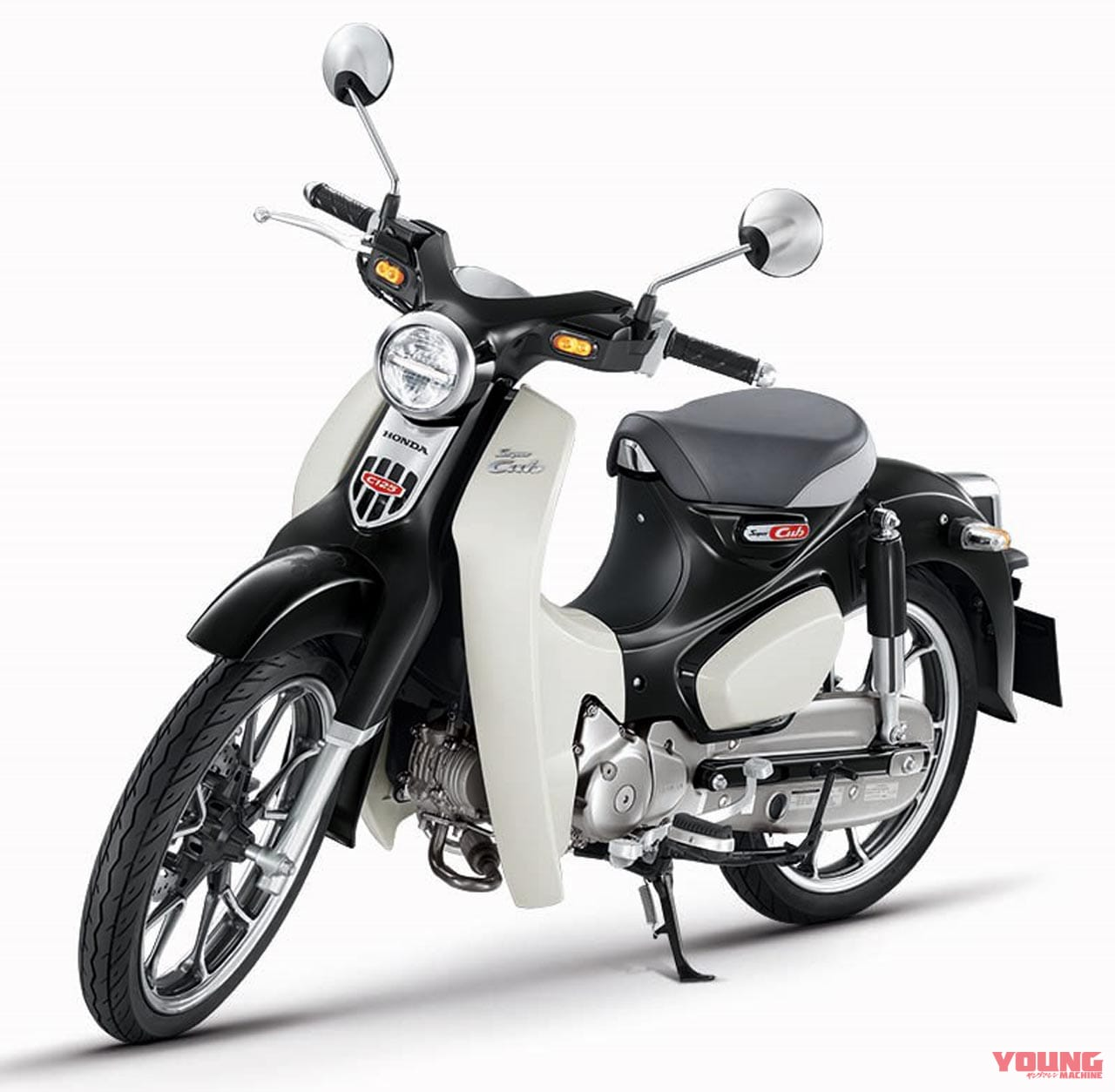 ホンダ スーパーカブC125/モンキー125【ブラック発売確定!】海外ではこんな色のカブも登場