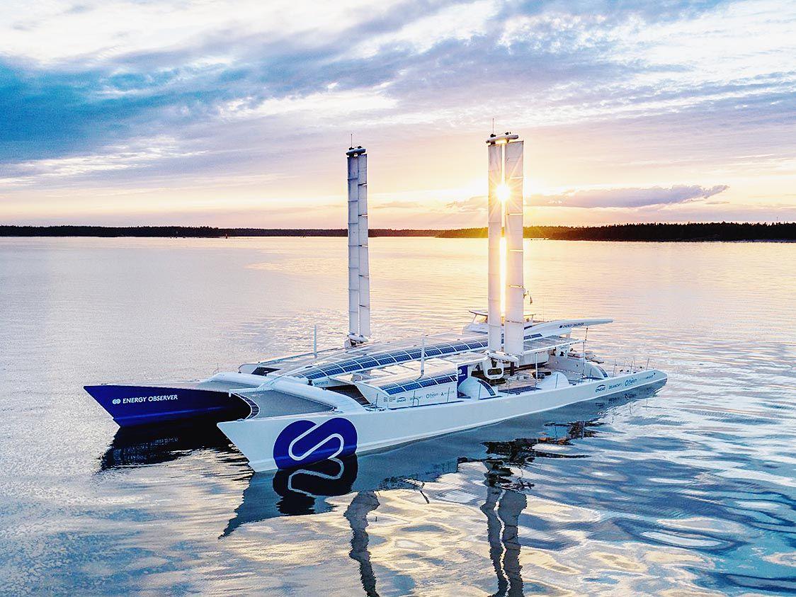 トヨタ 再生エネルギーで世界一周目指すフランス船に燃料電池システム提供