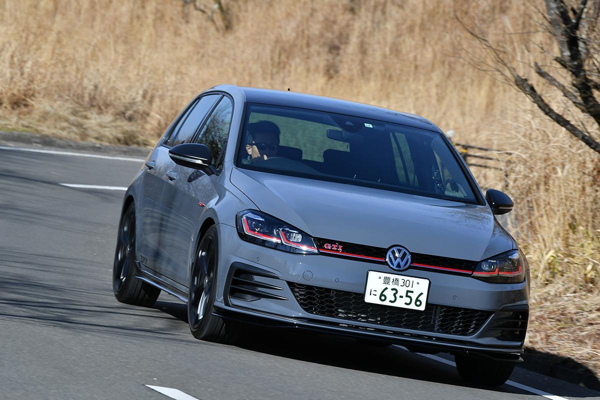 【ムービー】やる気にさせるエンジンサウンド! VWゴルフGTI TCRの加速力はまさに刺激的
