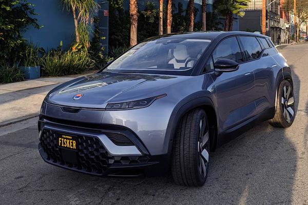 カリフォルニア生まれの電動SUV「フィスカー オーシャン」の受注を開始