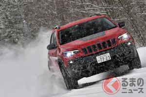 ジープで粉雪体験! 「チェロキー」は大人の都会派SUVだった