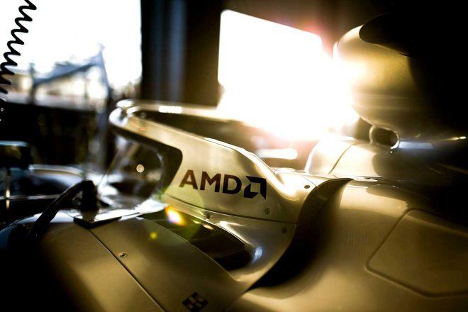 メルセデスF1、半導体大手AMDと複数年パートナーシップ結ぶ。高性能CPU『Ryzen』搭載PCなどを活用