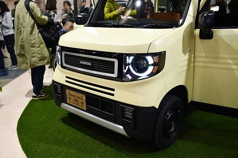 【東京オートサロン2019】ホンダアクセス、N-VANベースなどアイデア溢れる5台のコンセプトを展示