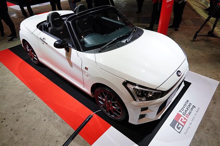 【東京オートサロン2019】今年はスープラ推しのトヨタガズーレーシング なにげにコペンがいたり?