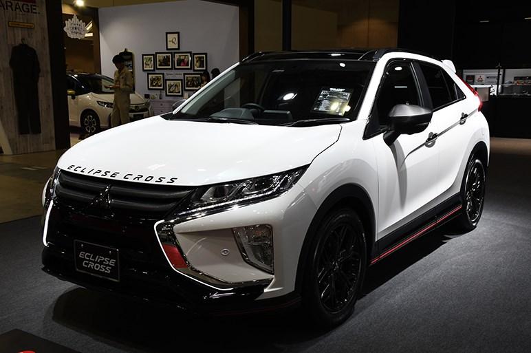 【東京オートサロン2019】三菱は新型デリカD:5、アウトランダーPHEV、エクリプスクロスをカスタム