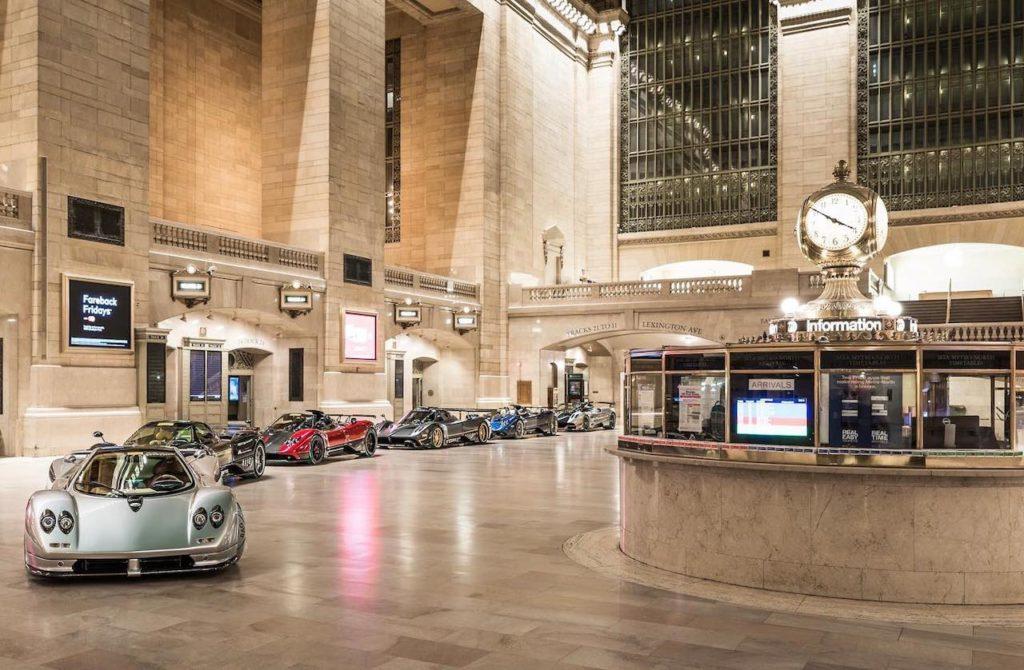 パガーニ、ニューヨークのグランド・セントラル・ターミナルで11月8日まで展示会を実施中