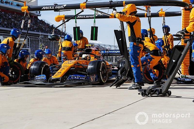 ピットストップはトップチームのレベルにはない……マクラーレンF1、今オフに改善を目指す
