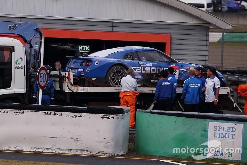【スーパーGT】週末に2度のエンジントラブル……カルソニック IMPUL GT-Rのジェームス・ロシター「残念のひと言に尽きる」