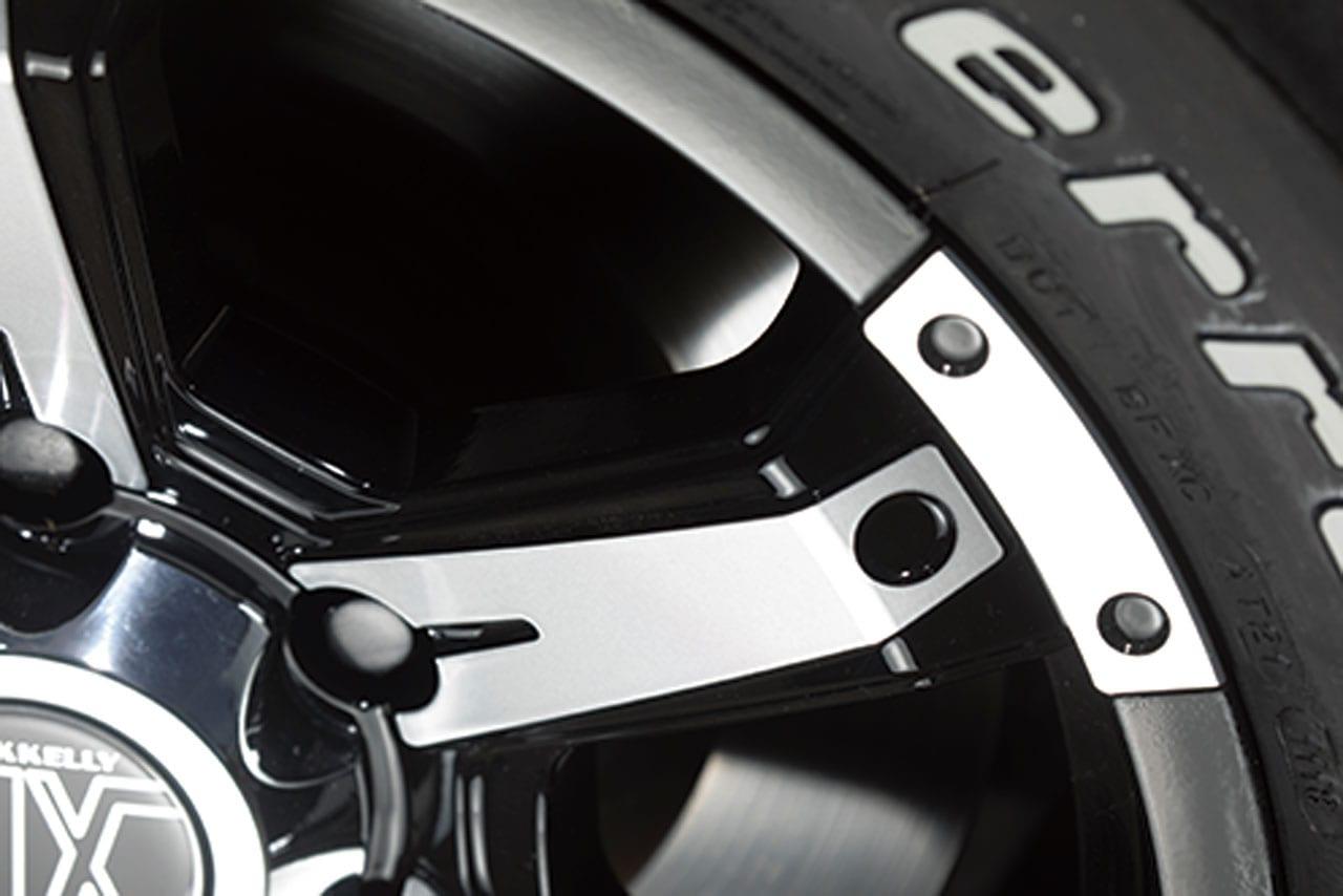 ロックケリー、造形美で魅せる王道の6スポーク|150系 プラド ホイール カスタム