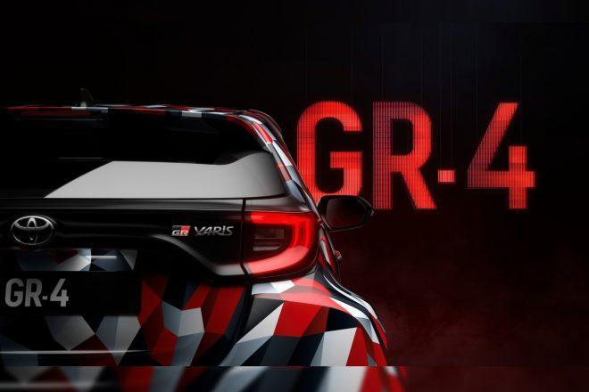 トヨタ、『GRヤリス』プロトタイプ登場を予告。Twitterでカモフラ柄のティザー公開