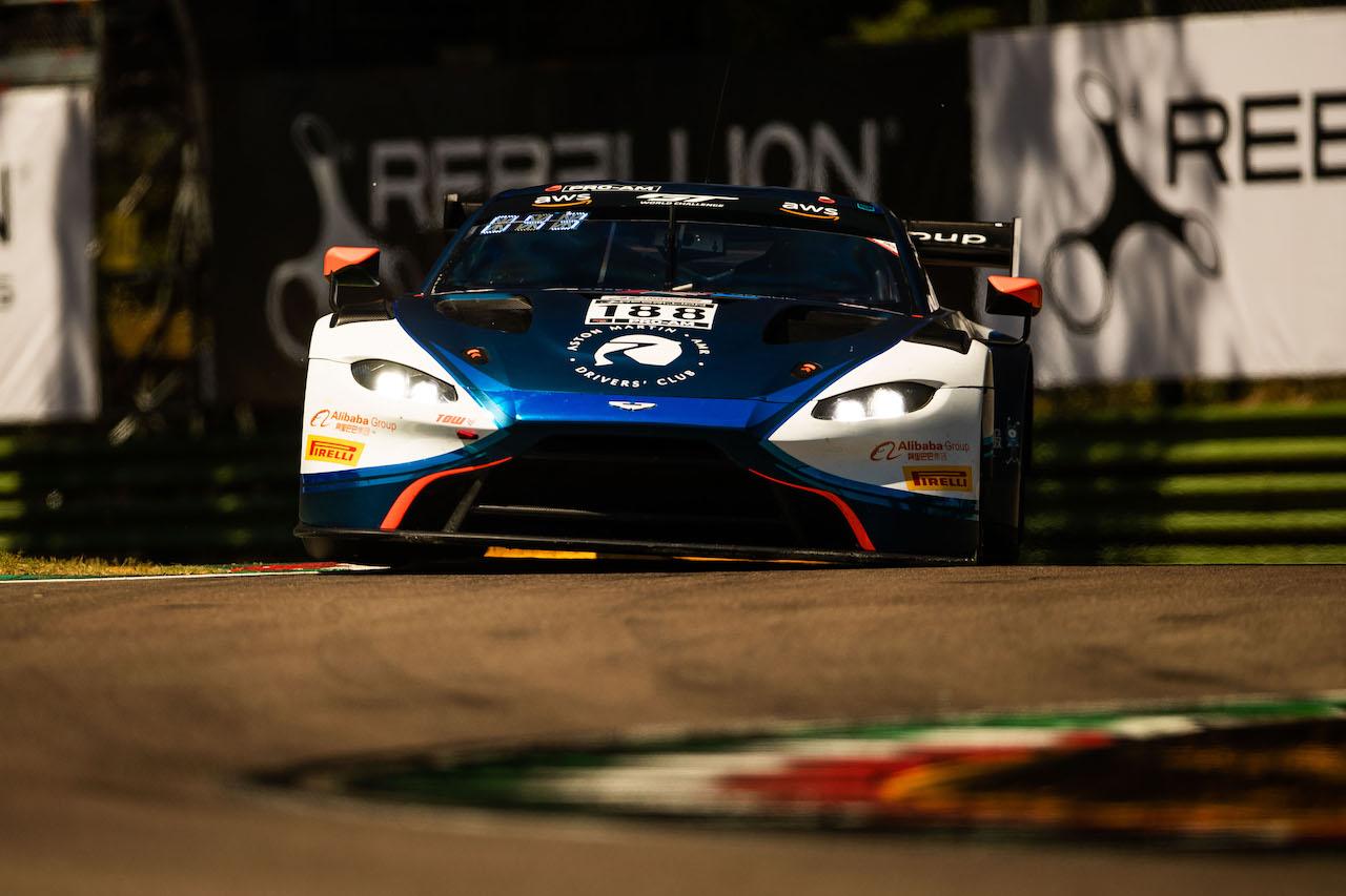 2020年GTWC開幕戦イモラ、アストンマーティン ヴァンテージ GT3がプロ・アマクラス制覇