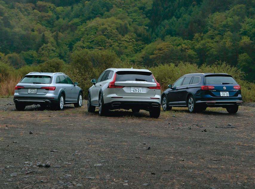SUVより万能!? 3台のクロスオーバーワゴンを佐野弘宗が検証する【Playback GENROQ 2019】