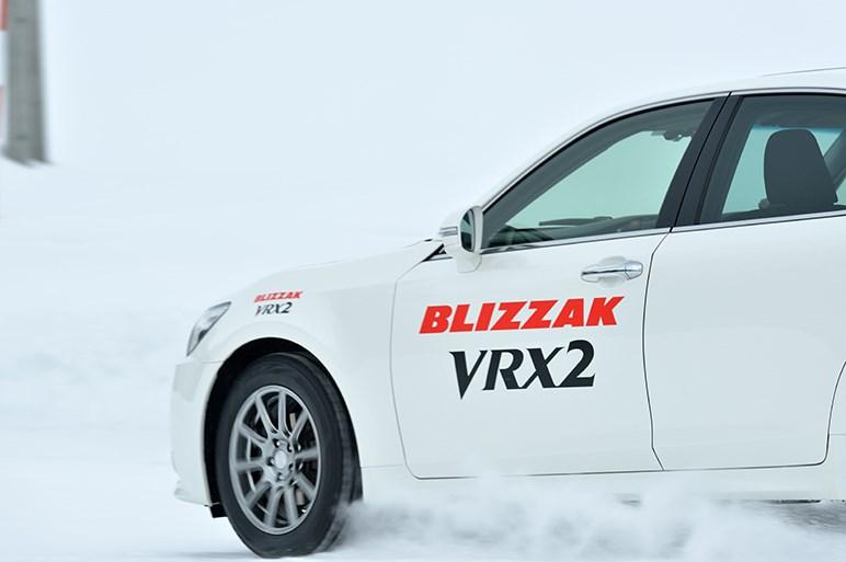 ブリヂストンのブリザックVRX2に試乗。旧型からの進化ポイントを確認