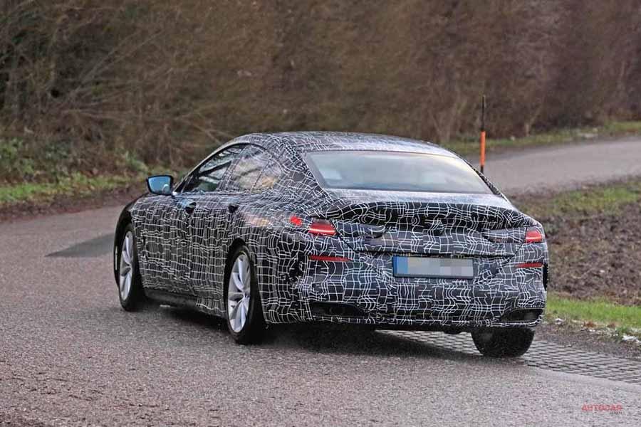 BMW8シリーズ・グランクーペ 公式画像が初公開
