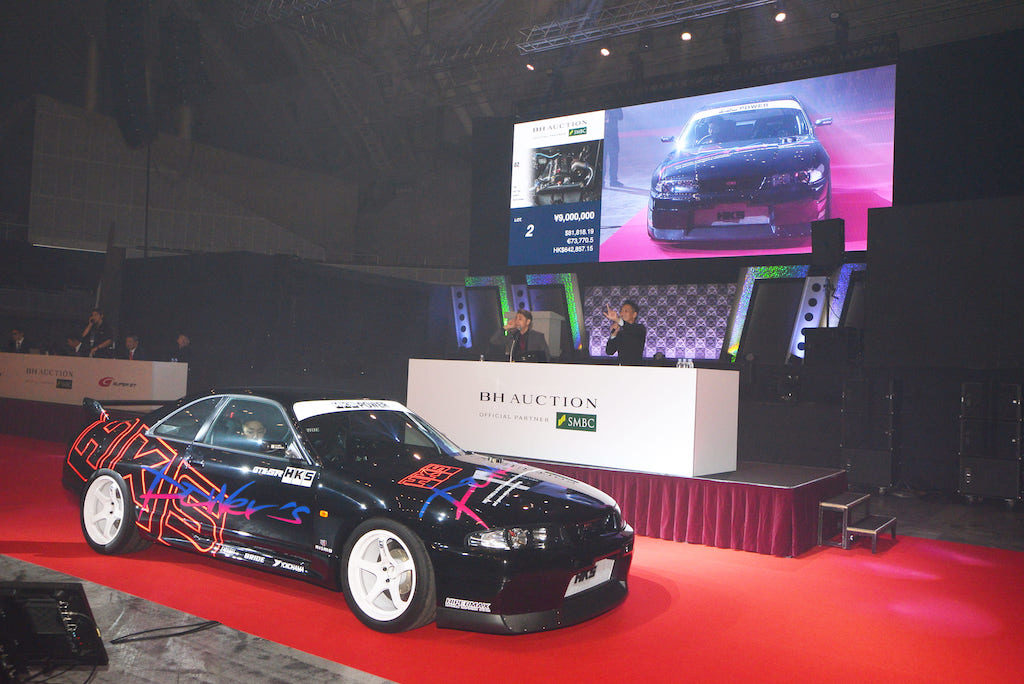 日本初! レーシングカーのみのBHオークション開催【東京オートサロン2020】