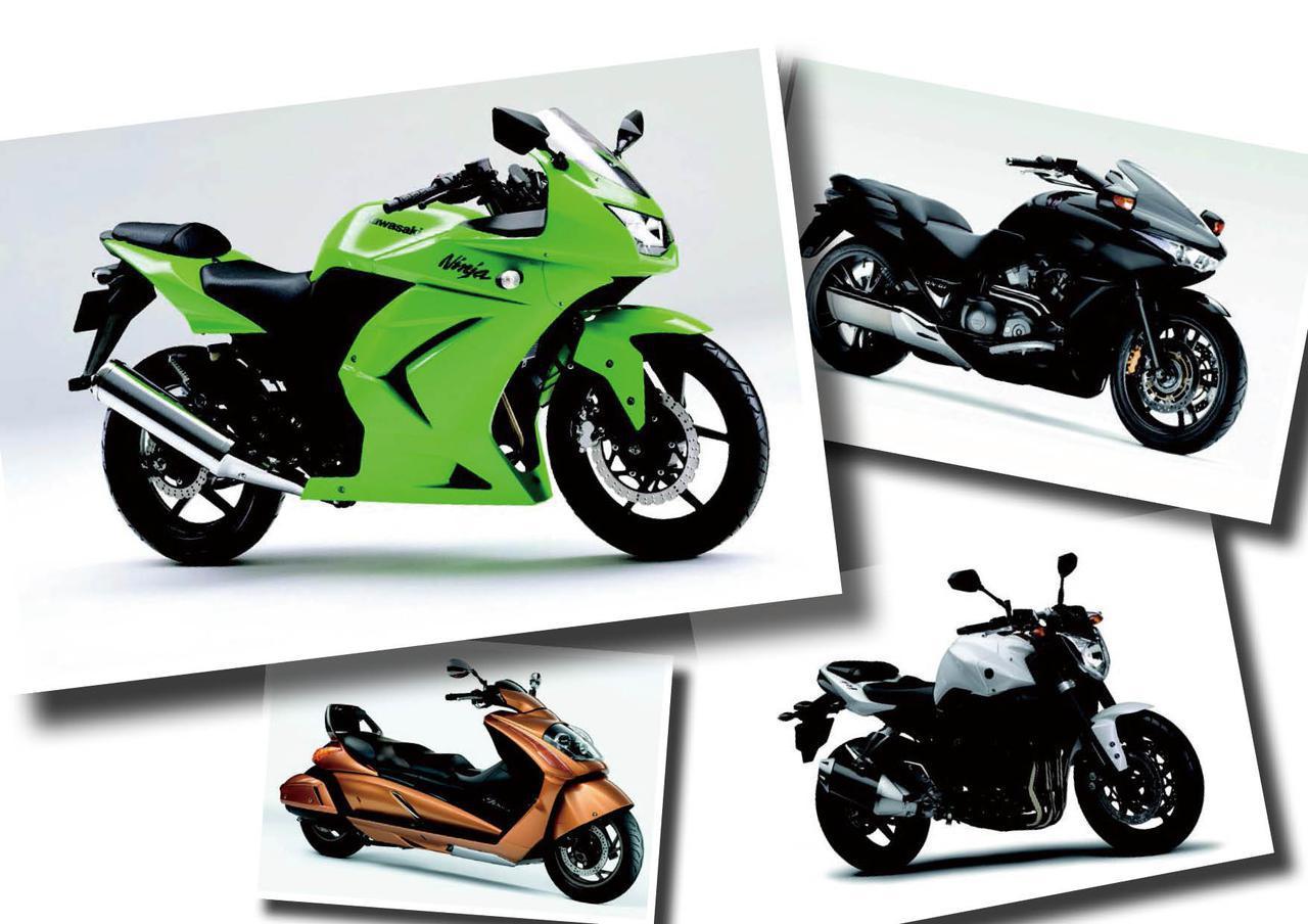 待望の250ロードスポーツ「ニンジャ250R」やオートマチッククルーザー「DN-01」が登場!【日本バイク100年史 Vol.102】(2008-2009年)<Webアルバム>