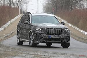 BMW X7 Mバージョンの存在、明らかに 11月公開へ